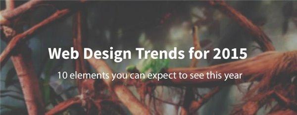 2015年网站设计我们将看到这十大趋势
