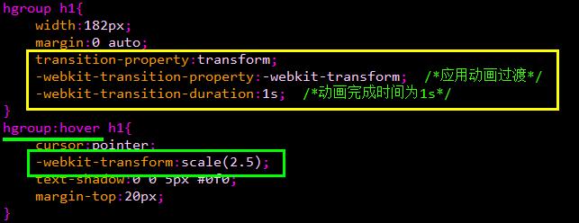 谈谈<span class='schwords'>CSS3动画</span>转换的基本方法