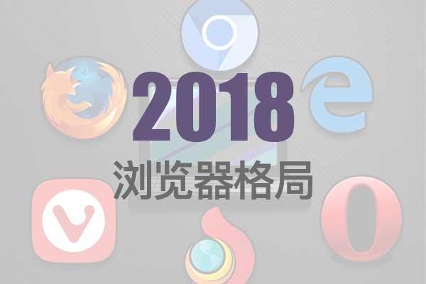 2018年国内外网民常用浏览器之走势