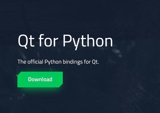 C++常用GUI开发框架Qt,开始支持Python