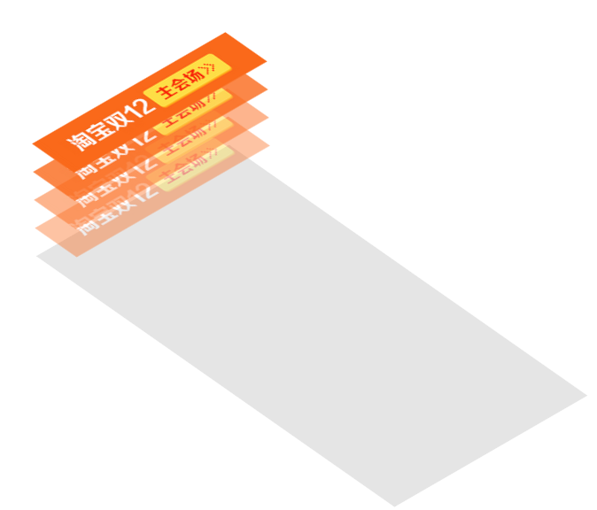 <span class='schwords'>CSS3</span>:实现三维空间的叠加效果