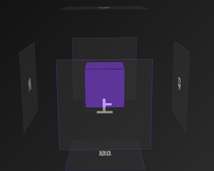 CSS3之3D魔方酷炫效果:鼠标随意拖拽
