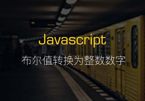 介绍4种用JavaScript将布尔值转换为整数数字的方法