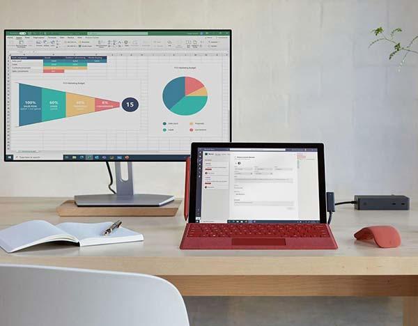 微软为商业,教育用户推出Surface Pro 7+